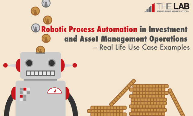 Robotic Process Automation in Investment and Asset Management